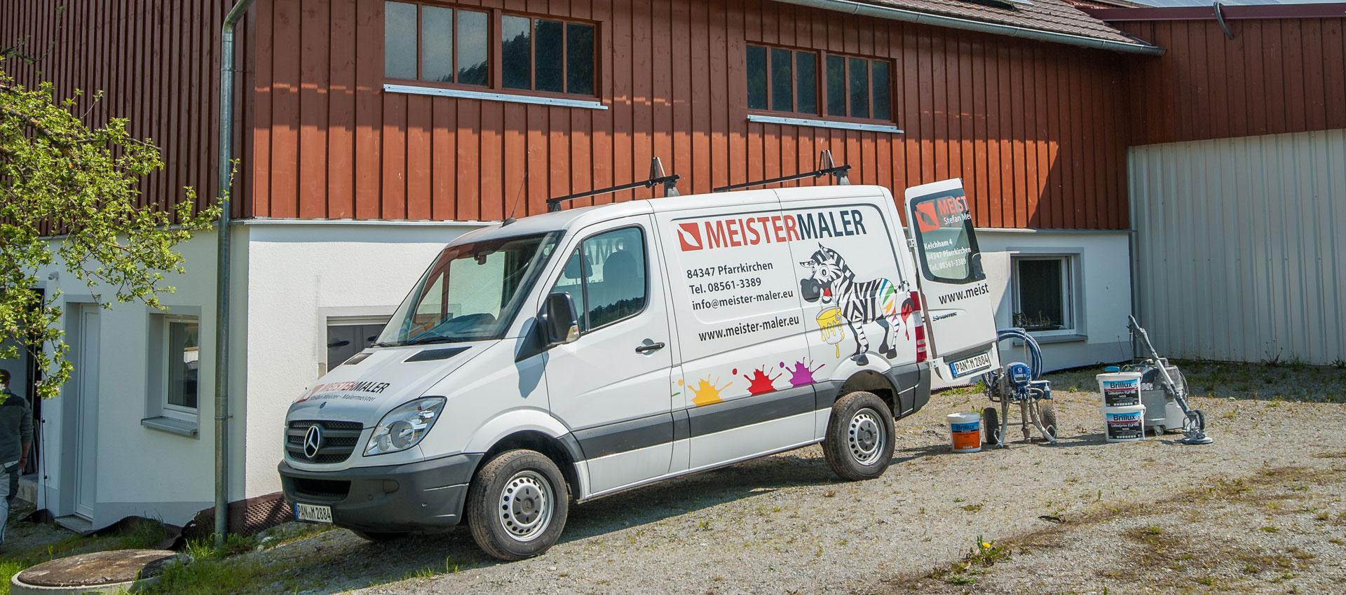 Ihr Malermeister im Landkreis Rottal-Inn