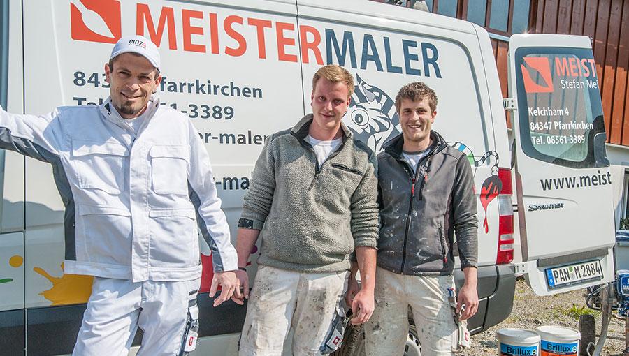 Malermeister und Team
